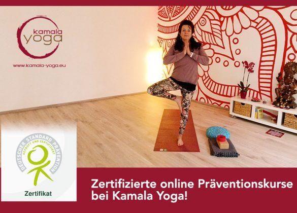 Kamala Yoga Präventionskurse