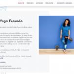 Neue Webseite Kamala Yoga